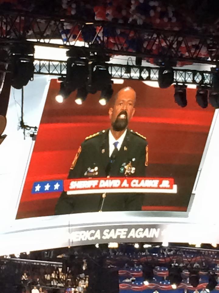 Sheriff Clarke was an amazing speaker!