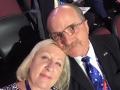 Tom and Lynn Tye take time for a selfie!