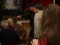Tom Tye Introduces Rand Paul to AJ Cafe Patrons