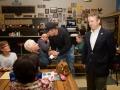 Patrons of AJs Cafe Meet Rand Paul