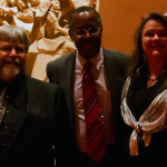 Dr. Carson with Steve Knight and Angela Allen