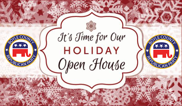 GOP Holiday Open House in Boyle County, Kentucky