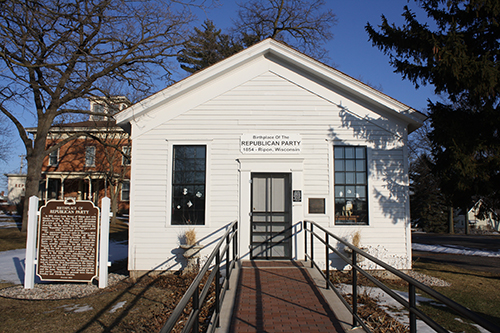 Little White School House in Ripon - Birthplace of Republican Party