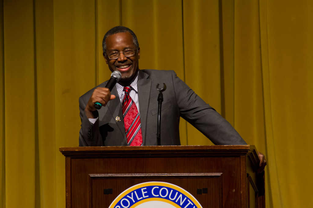 Dr. Ben Carson speaking in Danville, KY