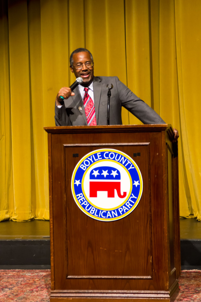 Ben Carson Speech in Danville, Kentucky