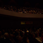 Full house at the Norton Center for Ben Carson Speech
