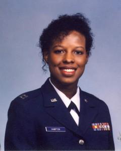 Jenean Hampton in uniform