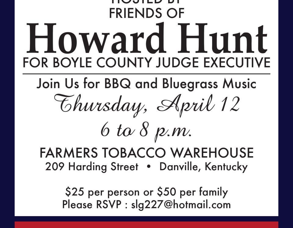 Howard Hunt Invites