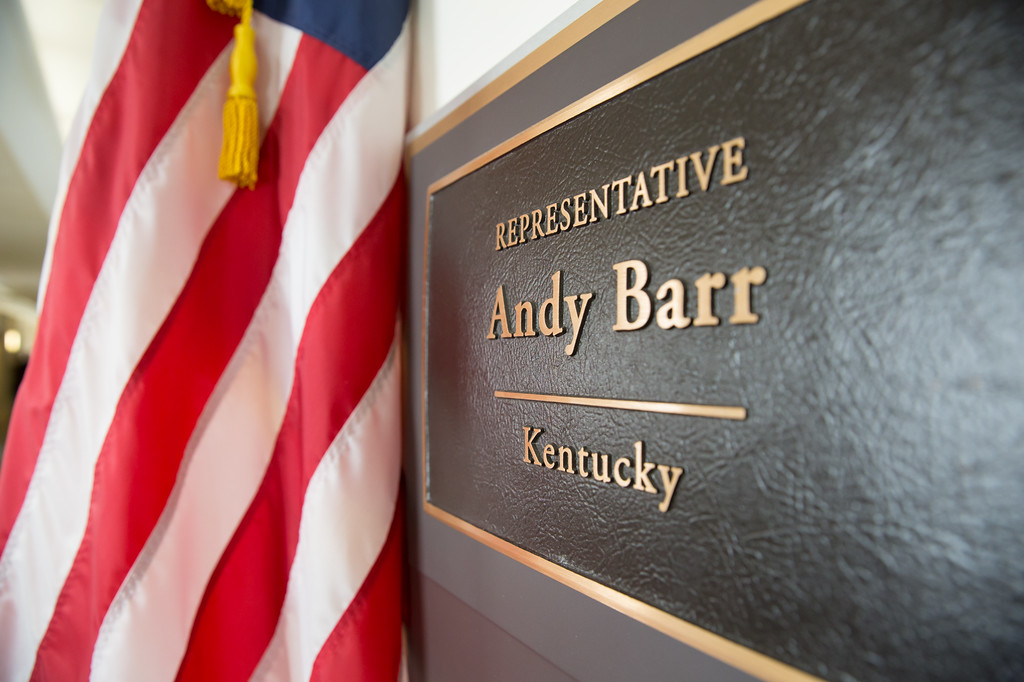 Andy Barr\'s Office Plaque