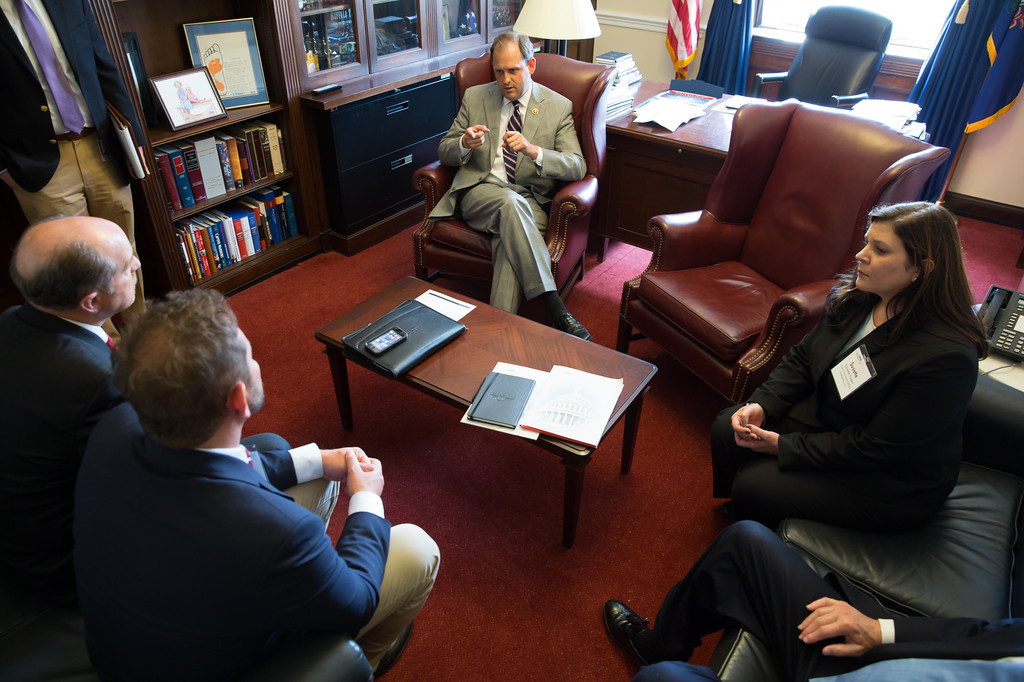 In Andy Barr\'s Office