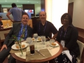 Tom and Mike have breakfast with Lieutenant Governor Jenean Hampton