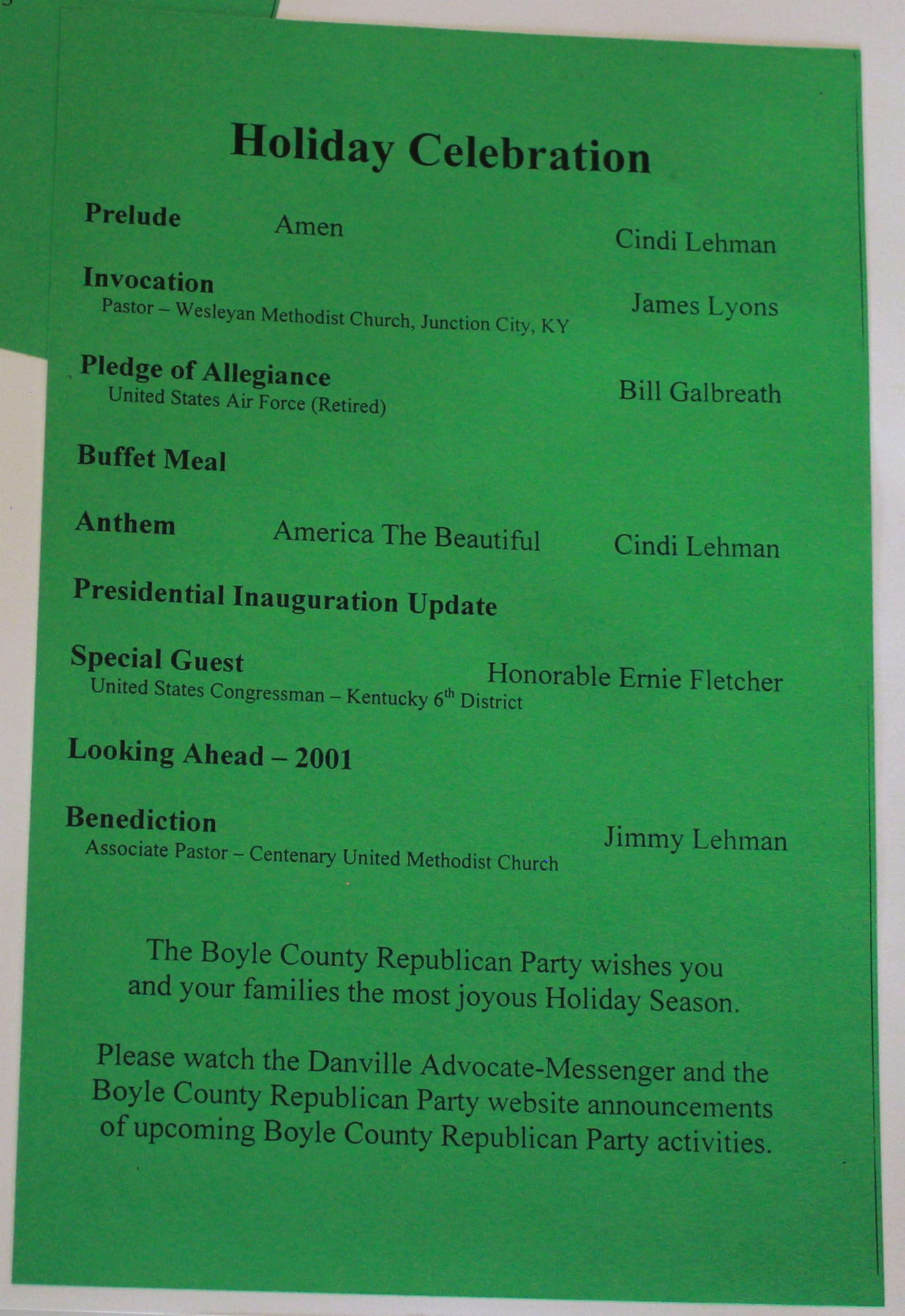 Boyle Republicans