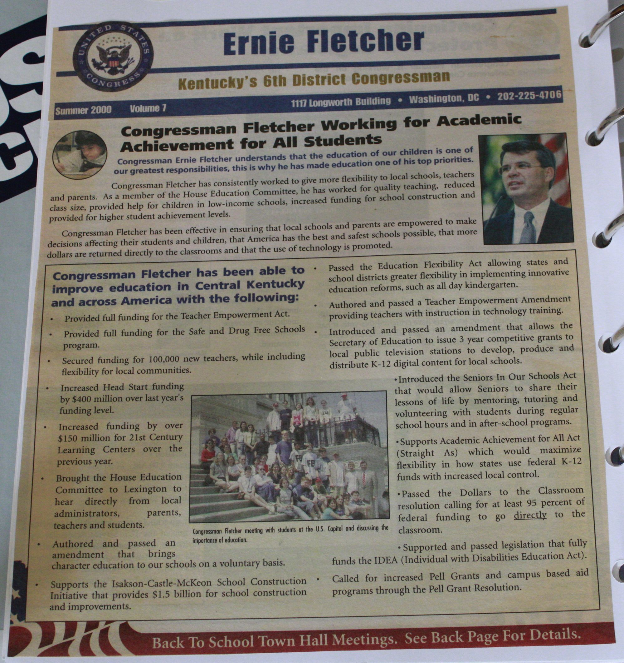 Ernie Fletcher Republican