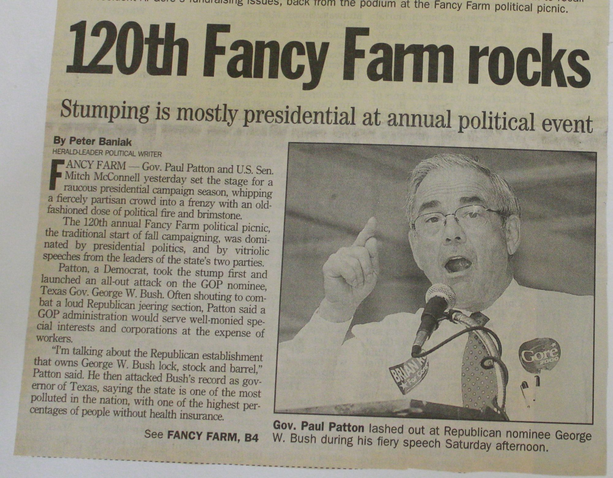 Fancy Farm Kentucky
