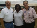 Jenean Hampton in Danville with Tom Tye