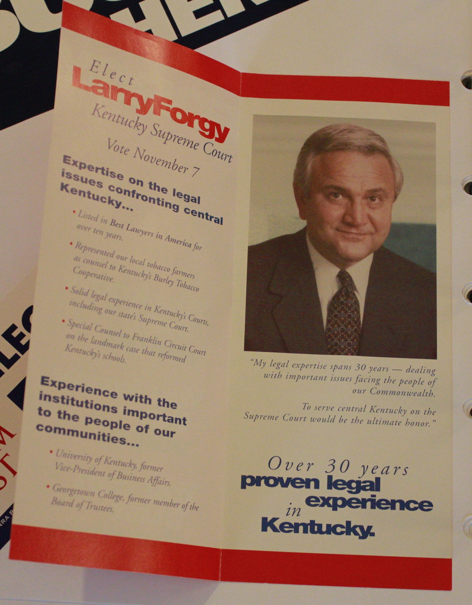 Larry Forgy Republican