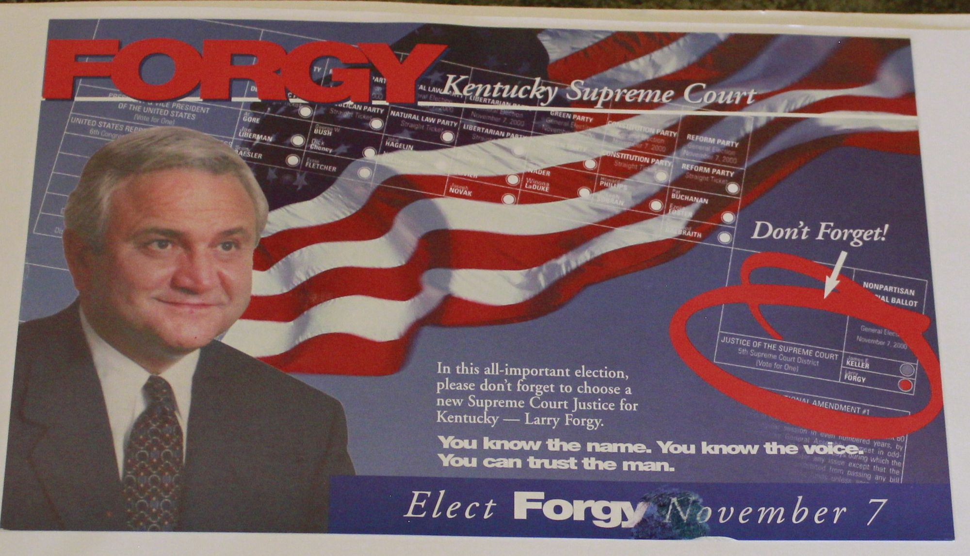 Larry Forgy Kentucky