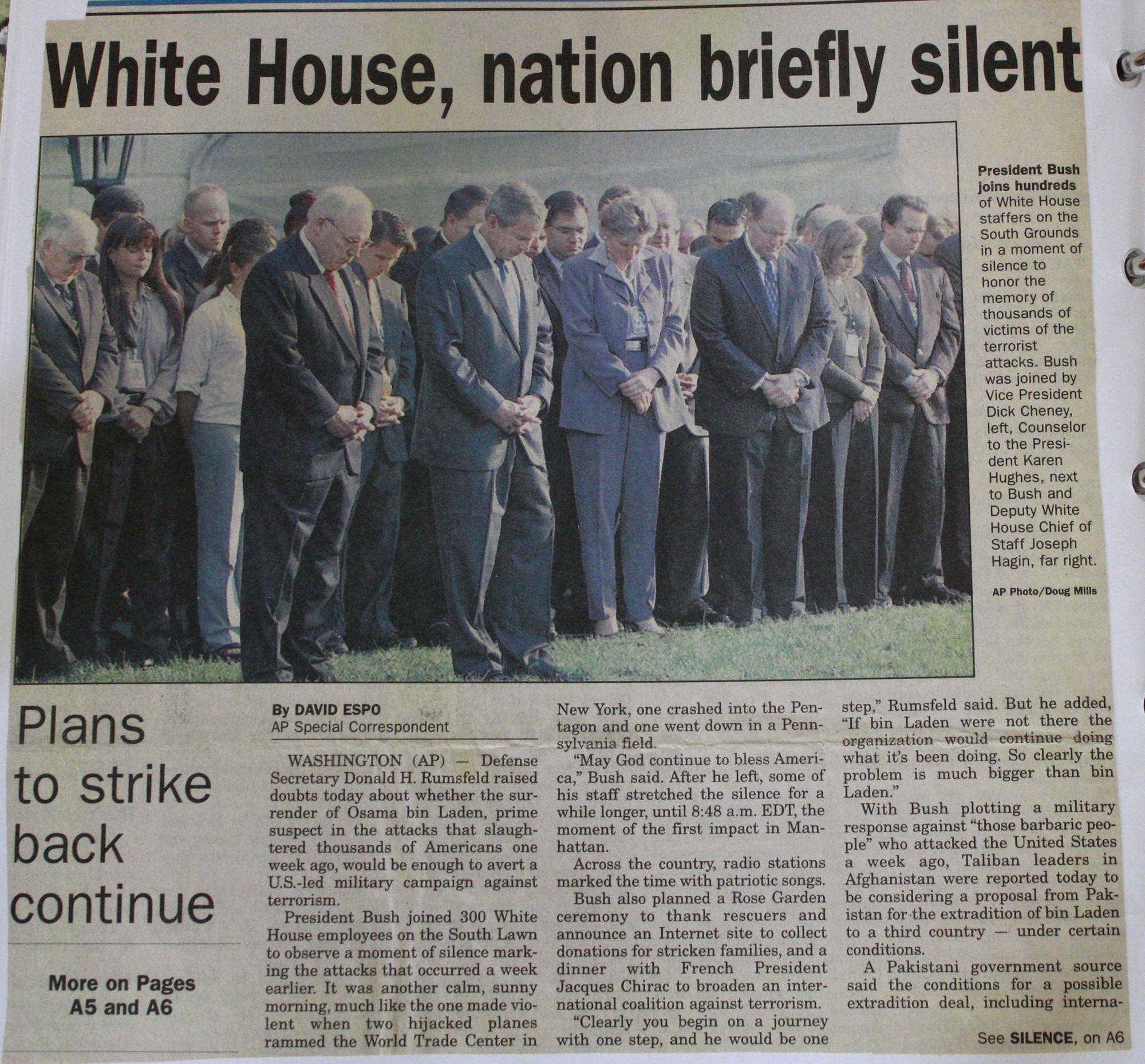 George Bush History