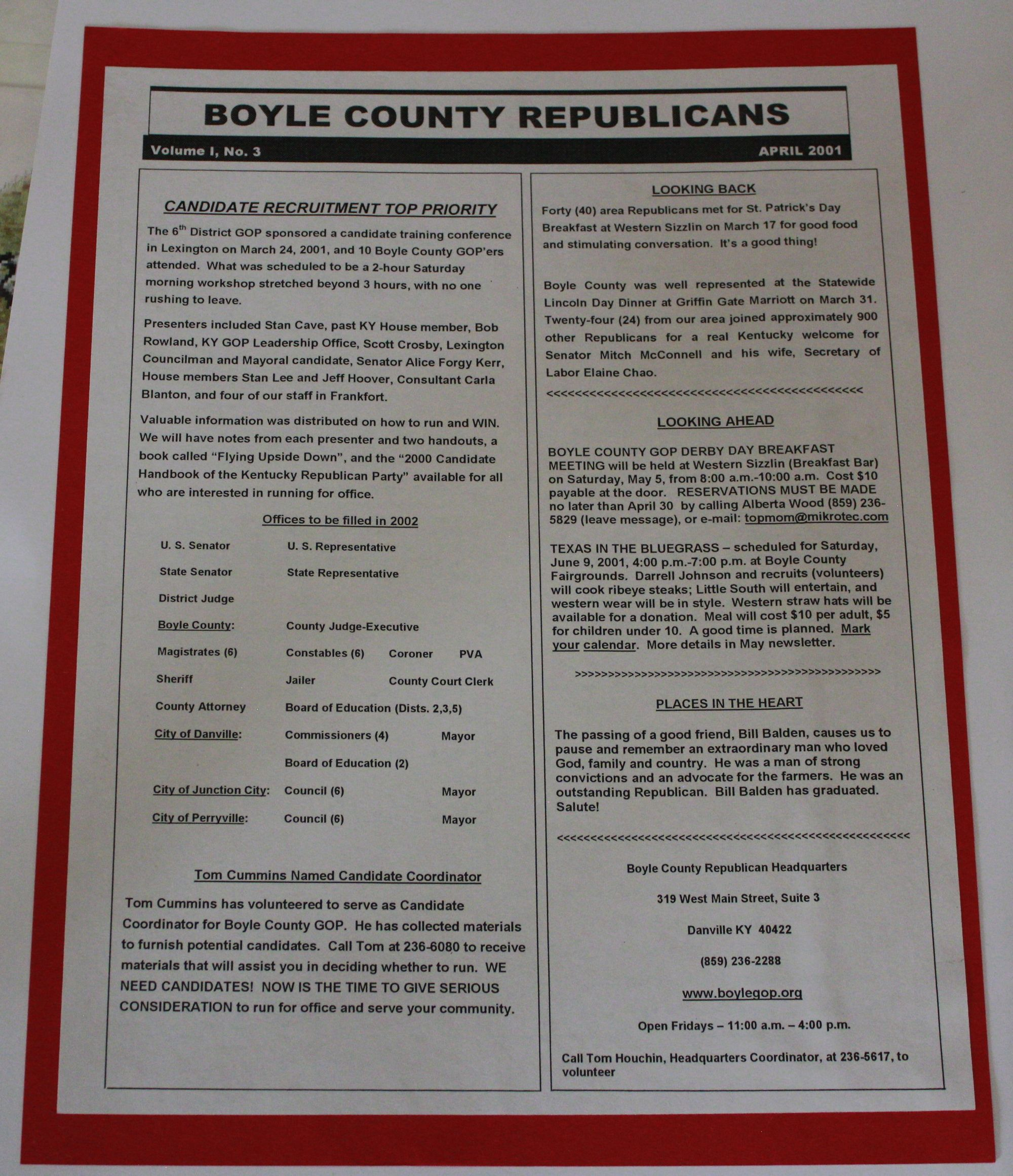 Republican Party of Boyle County
