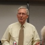 Senator Mitch McConnell speaking in Boyle County, KY