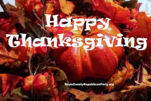 Boyle County Republican Party Thanksgiving