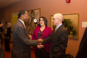 Ben Carson at the Boyle County Republican Party's VIP Reception with Former Patient Allison Short