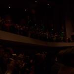 Full house at the Norton Center for Ben Carson Speech