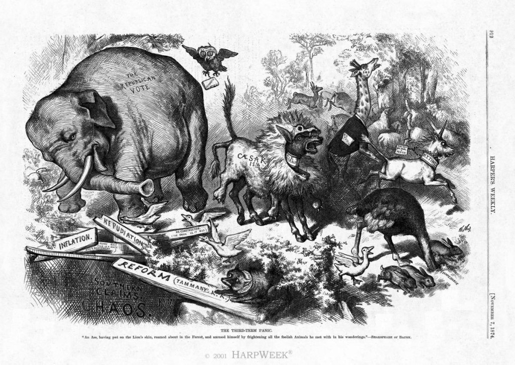 Republican Party Elephant by Thomas Nast