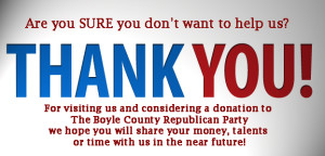 Cancel Donation to GOP