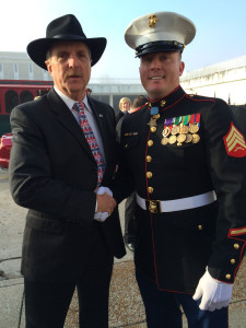 Dakota Meyer and Tom Tye
