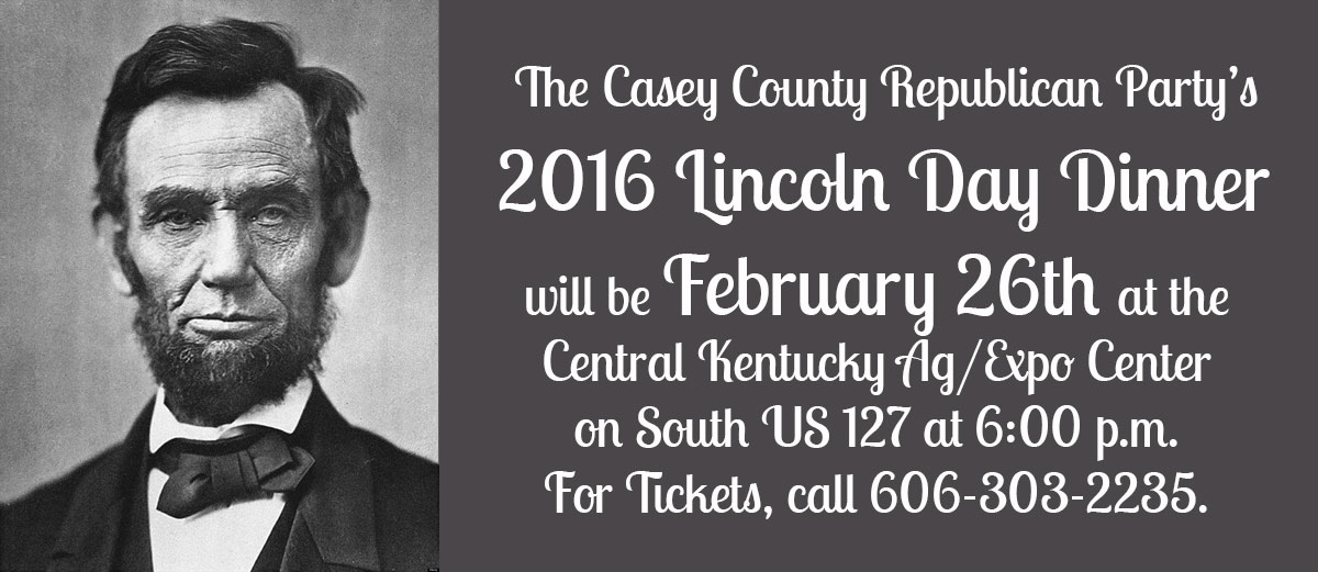 Casey County GOP Lincoln Day Dinner