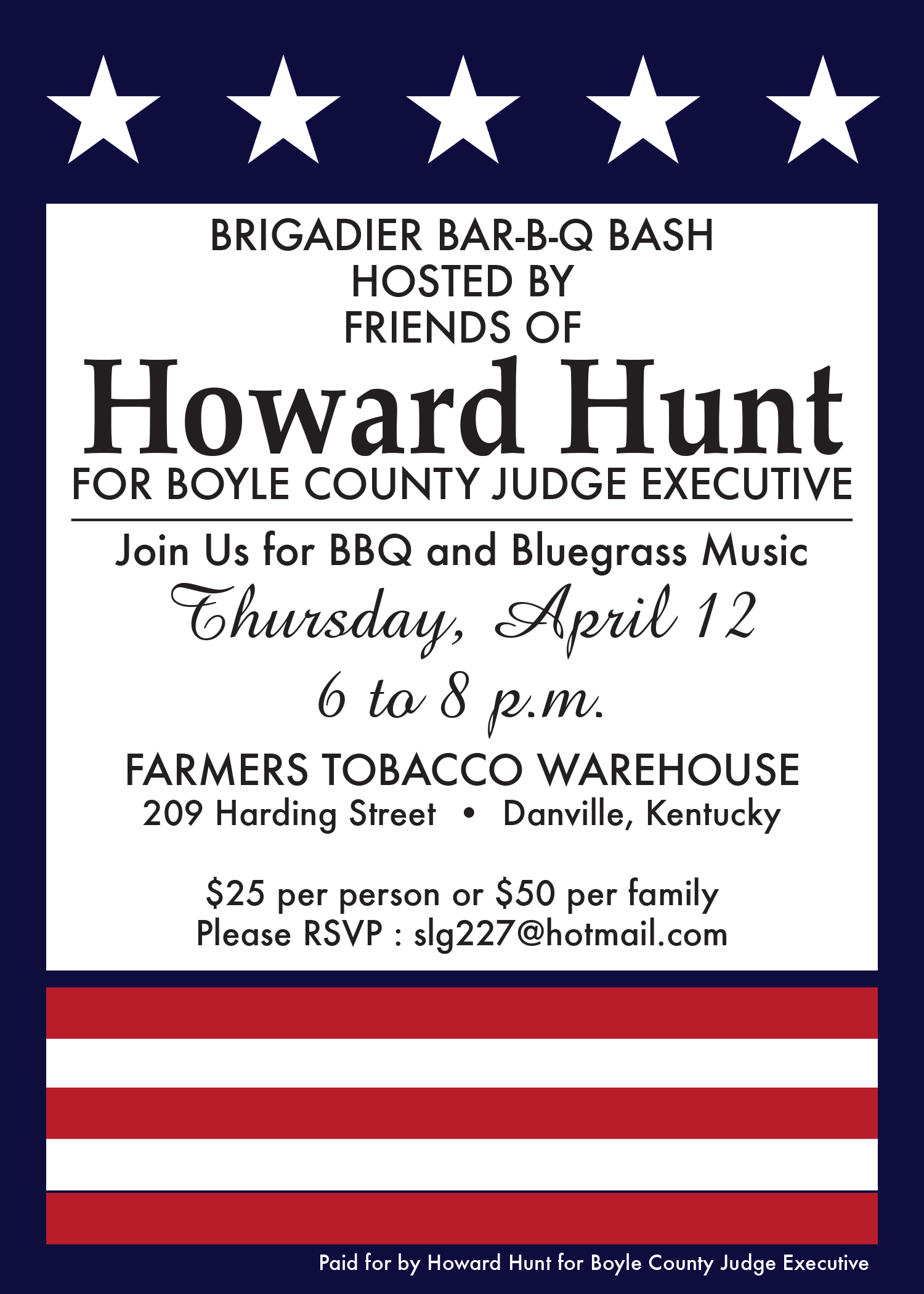 Howard Hunt Invites