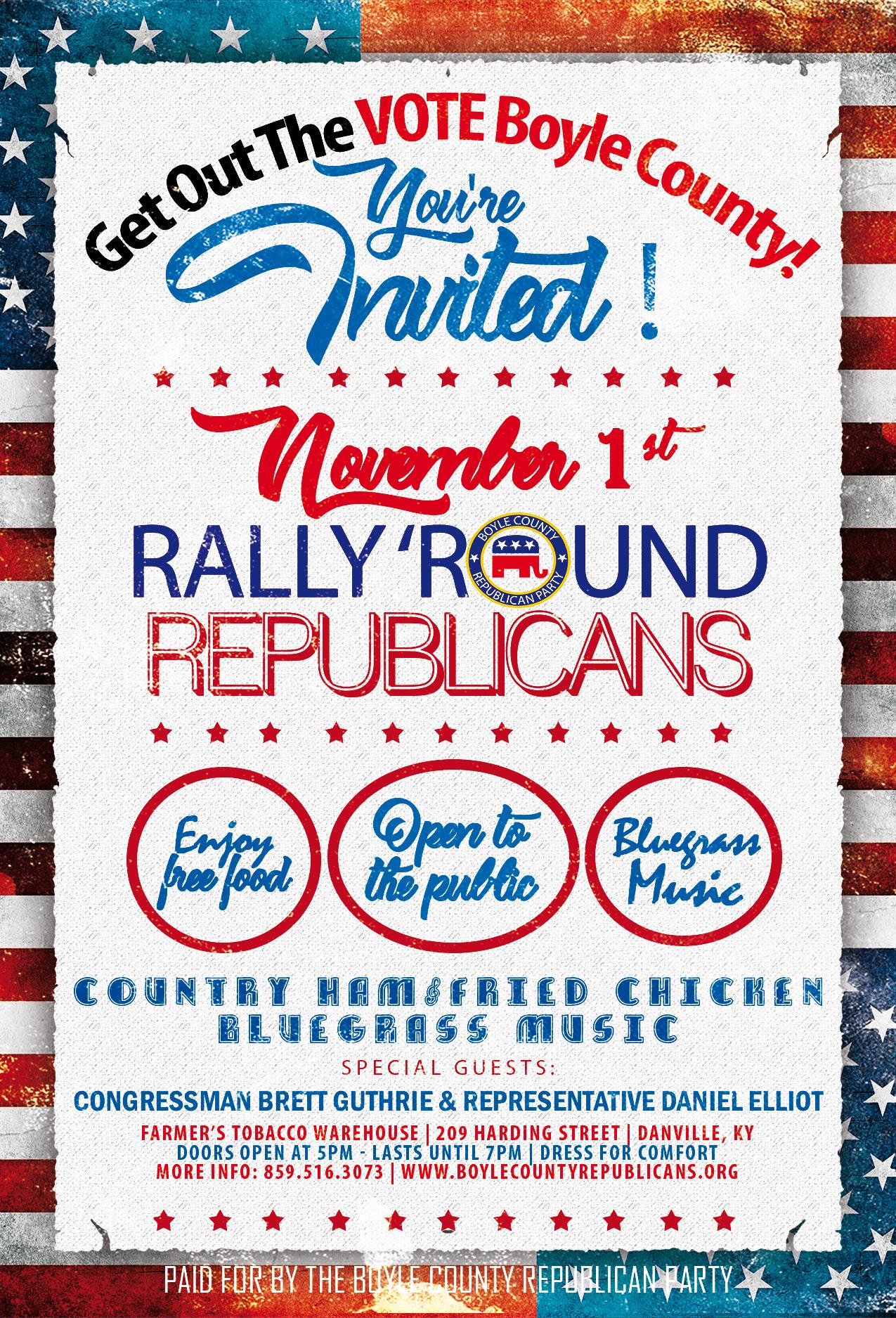 Boyle County Republican Rally